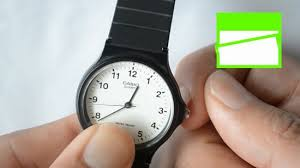 Wrist Watch For The Blind 3 Ways To Wind A Watch Wikihow