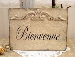 ordinary french country signs bienvenue welcome paris apartment