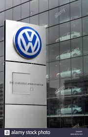 german volkswagen logo dpa the logo of german volkswagen vw car manufacturers is