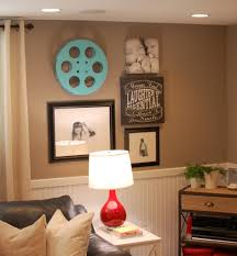 decorations decoration makeover basement painted with white wall idea room decorating family