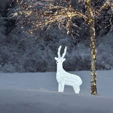 outdoor reindeer decorations uk images about santa sleigh