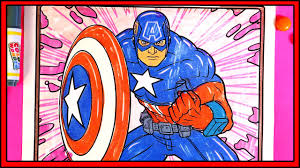 coloring pages for kids youtube marvel avengers coloring pages