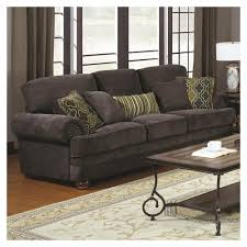 black leather comfy sofa with headrest with merged sofa black