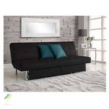 microfiber futon couch sofa bed sleeper furniture lounge living