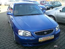 hyundai accent gls specifications 2002 hyundai accent 1 3i gls automatic climate car photo and specs