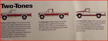 paint colors u0026 two tone ford truck enthusiasts forums