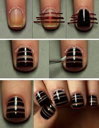 striping tape nail art tutorial beauty zone