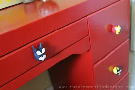 diy superhero drawer pulls dragonfly designs