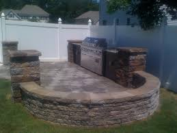 Built In Bbq George Skriapas Concrete U0026 Son L L C Bbq Grills U0026 Fireplaces