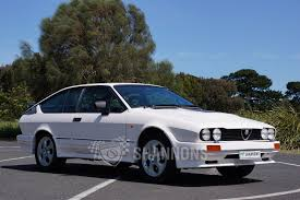 sold alfa romeo gtv6 coupe auctions lot 7 shannons