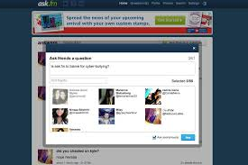 Ask Fm Cyber Bullying Can T Be Stopped By Changing Ask Fm S Safety