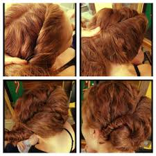 how to hair vintage updos for curly hair archives