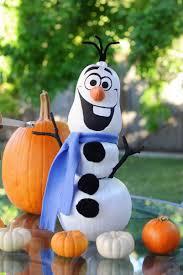 olaf pumpkin halloween and fall season pinterest olaf