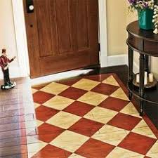 Painted Rug Stencils Chalk Paint Stenciled Floor Cloth Chalk Paint Floor Cloth And