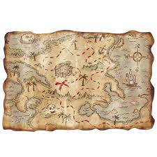 treasure map amazon com plastic treasure map accessory 1 count 1 pkg