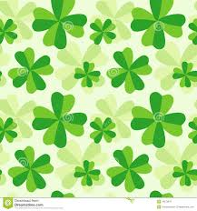 pattern of four leaf clover royalty free stock photography image