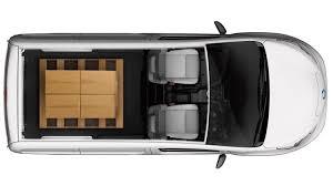 nissan cargo van interior design nissan e nv200 electric van nissan