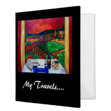 Binder Photo Album Travel Photo Album Custom Binders Zazzle