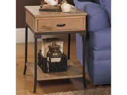 null furniture chairside table null furniture 2013 2013 05 rectangular end table with metal legs