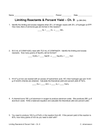 8 percentage yield