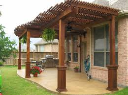astounding wood patio cover designs along with back porch patio