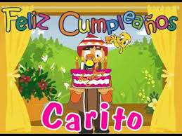 Imagenes De Feliz Cumpleaños Carito | feliz cumpleaños carolina youtube
