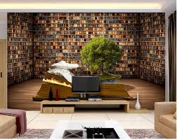 online buy wholesale creative wall murals from china creative wall 3d room wallpaper custom mural creative book shelf decoration painting photo 3d wall murals wallpaper for
