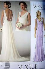 vogue wedding dress patterns wedding dress patterns ebay