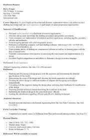 Draftsman Resume Sample by Draftsman Resume Template Drafting Resume Summary Examples
