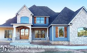 house plan 24356tw client built in louisiana