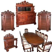 oak dining room sets with china cabinet used dining room sets with hutch dining room home complete oak