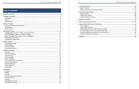 7 restaurant business plan example packaging clerks pdf 1 cmerge