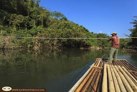 trekking elephant experiences canoeing tubing bamboo rafting