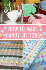 diy candy buttons recipe