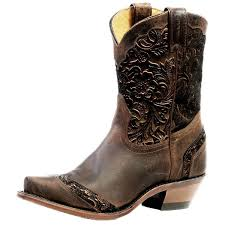 womens cowboy boots boulet boots womens cowboy leather snip selvaggio wood