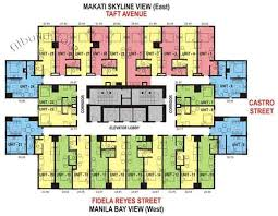 Condominium Plans Condo Sale At One Archers Place In Manila By Eton Properties