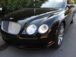 bentley dresses up new continental 2007 bentley continental gtc convertible low miles california car