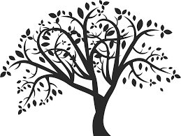 how to draw a tree free printable tree stencils 16 pics how to