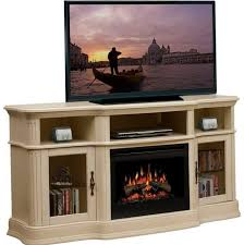 Faux Fireplace Tv Stand - tv stand fake fireplace big lots off white electric stands modern