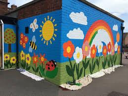 new whittington primary school mural junction arts skool muur new whittington primary school mural junction arts