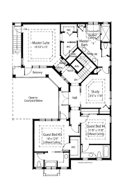 courtyard style house plans hacienda courtyard style home plans with best mediterranean