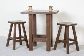 pub table barnwood generation log furniture