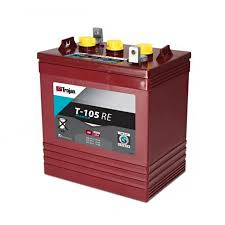 trojan t105 re deep cycle battery 6 volts 225 ah