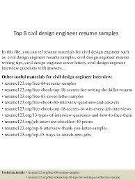 Structural Engineer Resume Sample by Civil Structural Design Engineer Resume Free Resume Example And
