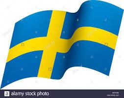 Sweedish Flag Sweden Swedish Flag Scandinavia Stockfotos U0026 Sweden Swedish Flag