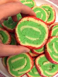 christmas pinwheel spiral swirl sugar cookies u2013 easy no chill