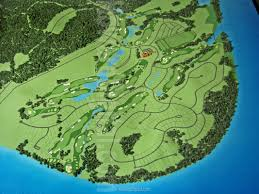 Topographical Map Of Tennessee by Golf Course Models Tennesee National Golf Course Model Howard
