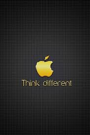 wallpaper iphone gold hd golden apple think different iphone 4 wallpapers free 640x960 hd