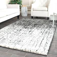 Modern Grey Rug Gray And White Rugs Gray Area Rug With White Flowers Ezpass Club