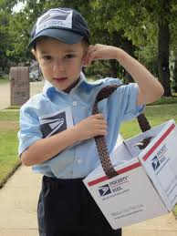 clever infant halloween costumes homemade mailman costume google search diy costumes